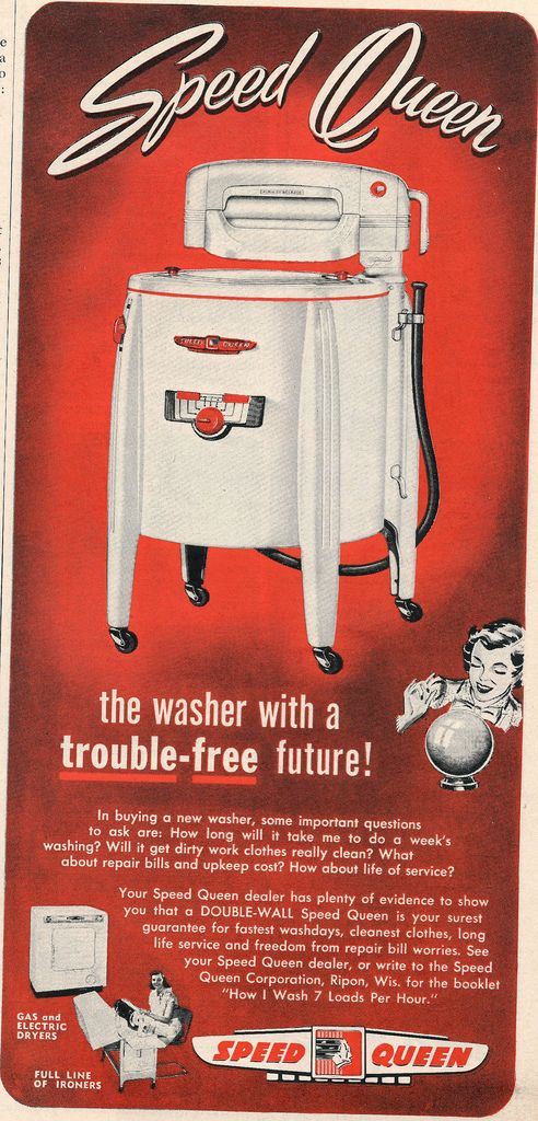 Flickr PINNED 04.14.17 Good Friday (I don't know the brand we had, but we used a wringer washer when I was a child.)