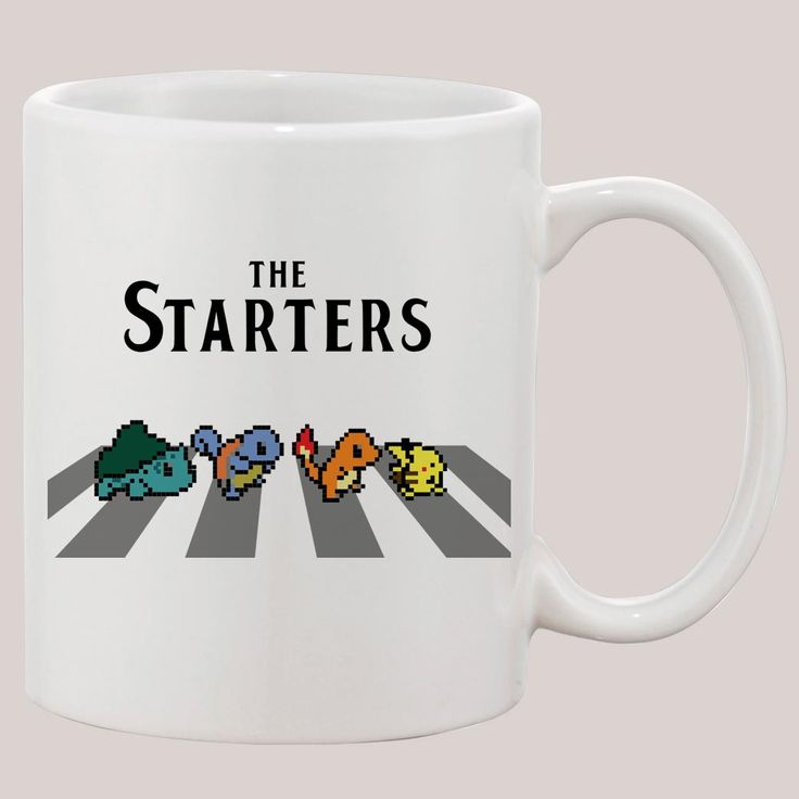 The Starters Pokemon Mug 11oz Ceramic