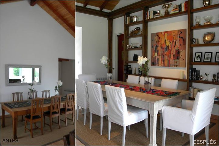 Intervenciones de Diseño - Before & After #dinningroom #countrystyle #homedeco #house #interiordesign #architecture