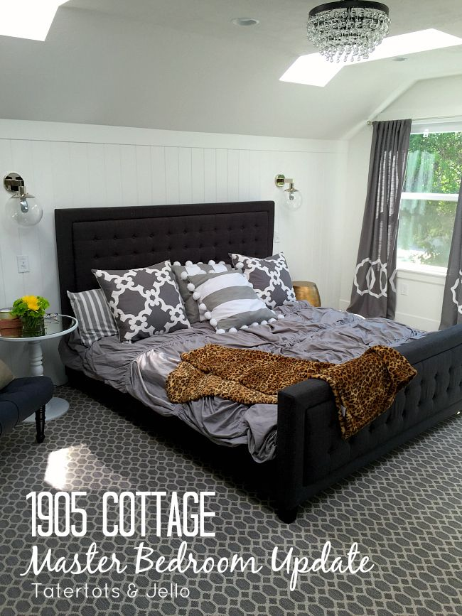 1905 Cottage Master Bedroom Update And Yogabed Review Master Bedroom