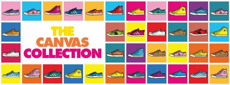 Vintage e distressed nelle all Star, Retrò e 70's nelle asics Retro Rocket, ha scatenato la vostra creatività nelle adidas Honey, ha reso le PRO-Keds Classic Royal le sneakers di Kareem Abdul-Jabbar, in edizione speciale per gli europei di calcio con scudetto ricamato sulla linguetta per le Le Coq Sportif Deauville, colorato e di tendenza per le Milton di Vans.      BUY OUR CANVAS COLLECTION: http://www.athletesworld.it/search/node/canvas%20collection