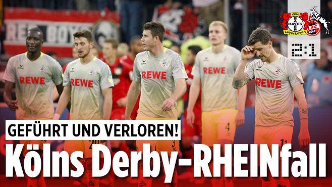 Bayer Leverkusen gegen 1. FC Köln - Bild.de