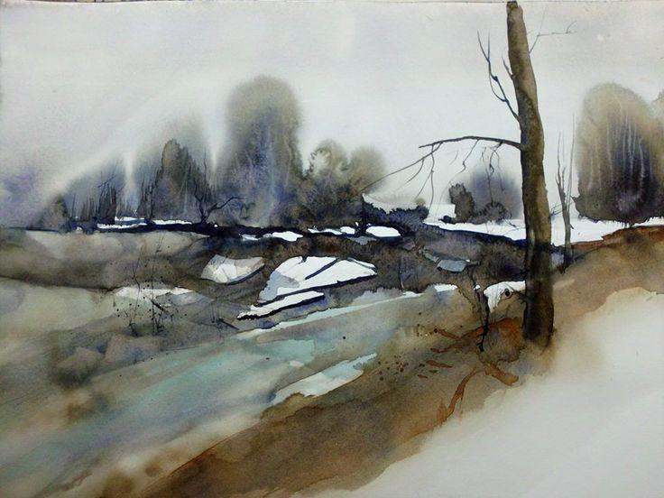 landscape by Helga Berger