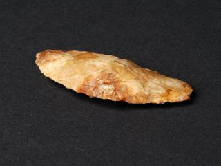 Cuchillo tallado de sílice