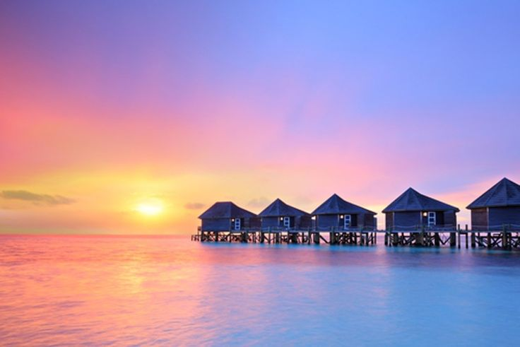 IN BEELD. De tien mooiste eilanden ter wereld - De Standaard - De Maldiven