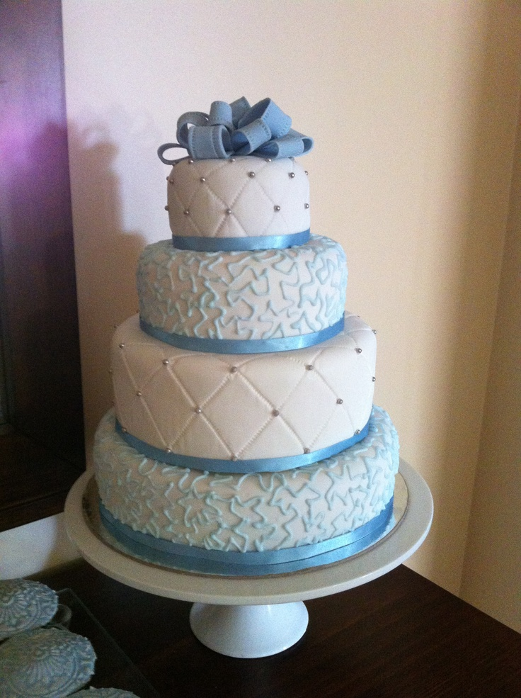 Cake i made for my baby boy's Baptism