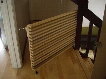 Attractive 10 DIY Baby Gates For Stairs