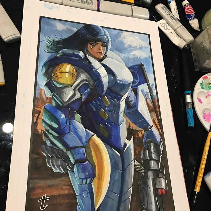 """2,751 Likes, 16 Comments - Terrance Whitlow Aka MUD-KLAW (@terrance_unchained) on Instagram: """"This #pharah commission for @figures_station #overwatch have some really cool characters.…"""""""