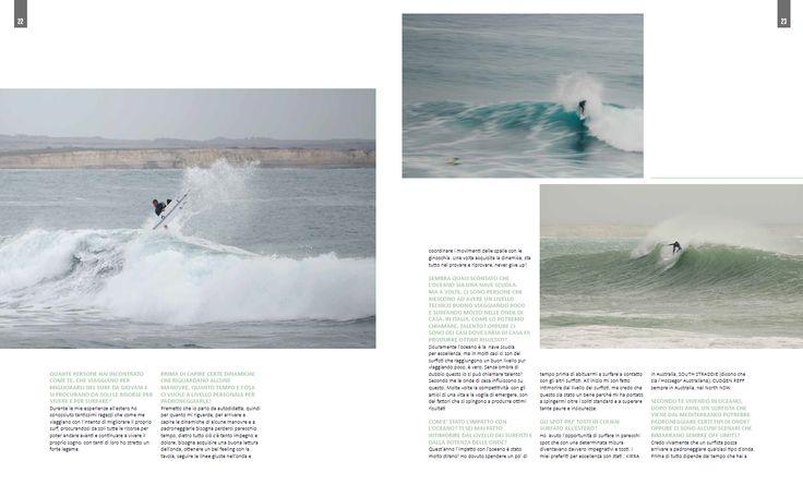 Marco Fenu ITW - pag. 22 - 23  Testi e foto Andrea Bianchi