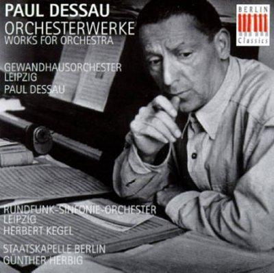 Paul Dessau - Dessau: Works for Orchestra, Blue