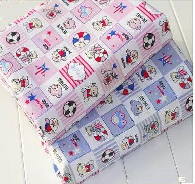 Новый 40 * 50 см 2 шт./лот мультфильм хлопок лоскутное полотно одеяла tecido швейные постельное белье ткани ткань самодельные куклы DIY ткань t04 купить на AliExpress