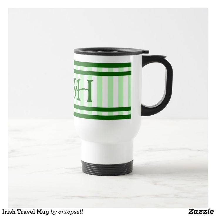 Irish Travel Mug st patricks day crafts, st patricks day, st patricks day party, st patrick's day ideas, st. patrick's day activities, t shirts #saint #saintpatricksday #stpatricksday #design #trend #saintpatricksday2018 #patricks #greenday #stpatricksday2018 #style #StPatricksFest #SaintPatricksDay #saint #shamrock #StPatricksDayShirt #muglife #mugs #mug #pillows #pillows #coffee #flask #travelblog