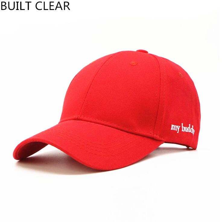 (BUILT CLEAR) New Men's and Women's Embroidery Bend along Baseball Cap snapback Women's Wholesale Hat snapback caps #Affiliate