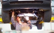 Service and MOT Test, £39