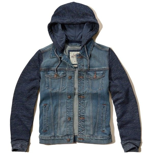 As melhores 25 ideias de Hooded denim jacket mens no Pinterest ...