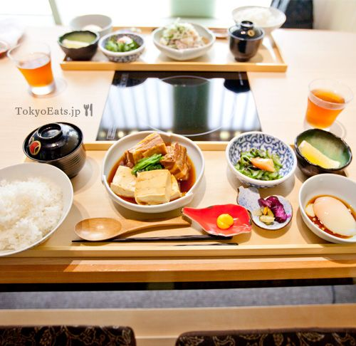 Hyoki — 瓢喜 shabushabu lunch set 980 yen!!! http://www.tokyoeats.jp/hyoki/ #nishiazabu #shabushabu #tokyo