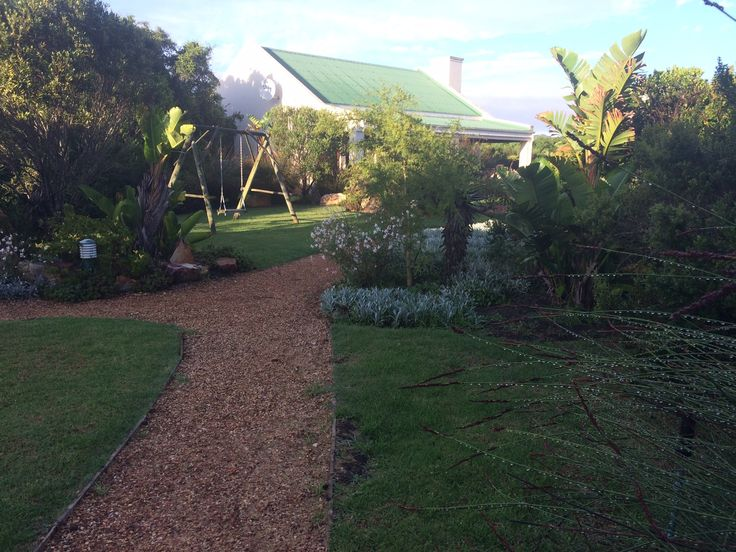 Walk through a well developed fynbos garden to the Family cottage at Dune Ridge Country House #StFrancisBay #Eastern Cape #SouthAfrica www.duneridgestfrancis.co.za