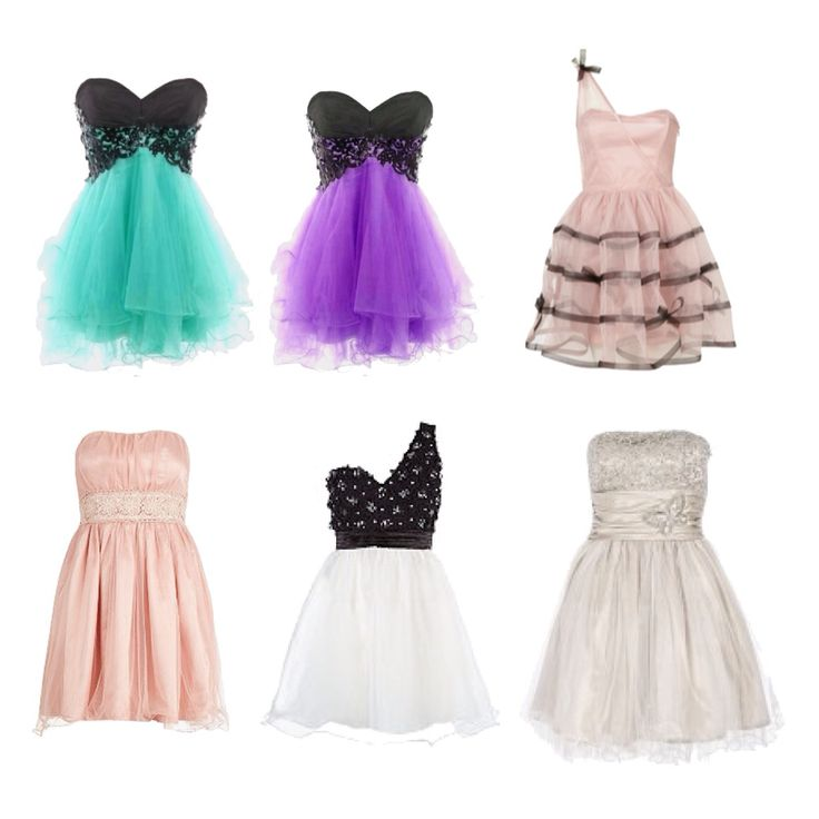 Cute dresses for prom!!!
