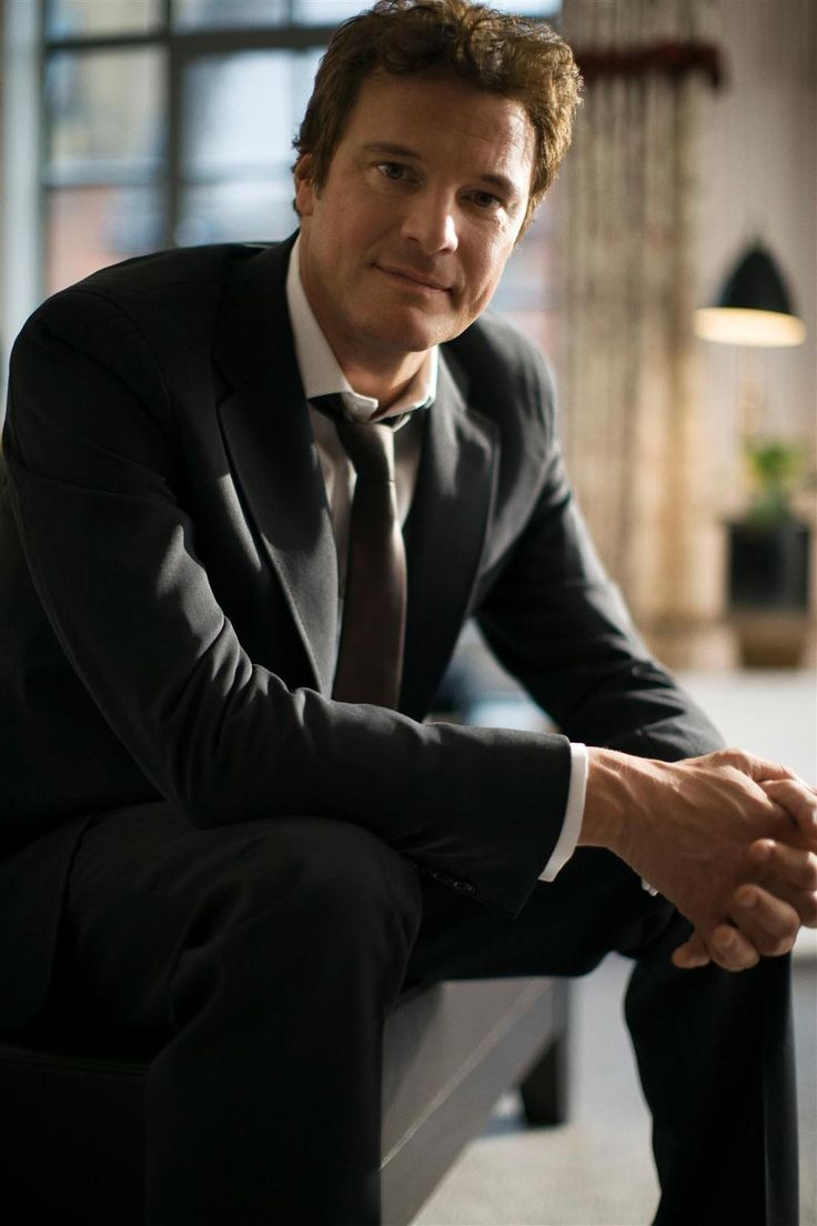 Colin Firth (smashing :)