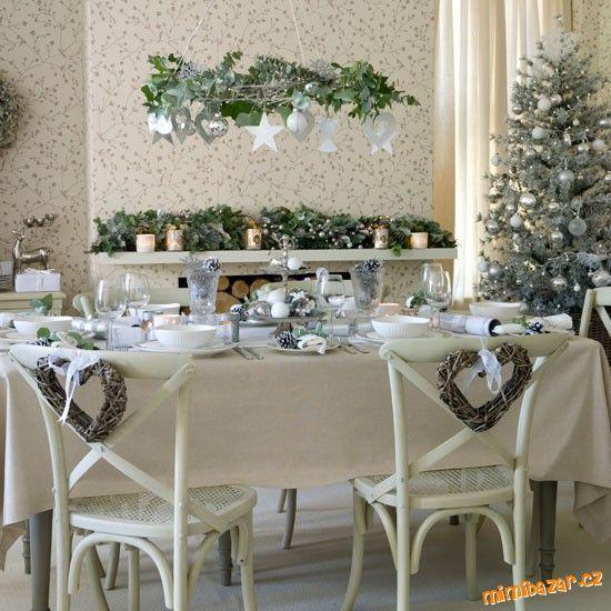 VÁNOČNÍ STŮL aneb kouzlo slavnostní vánoční tabule