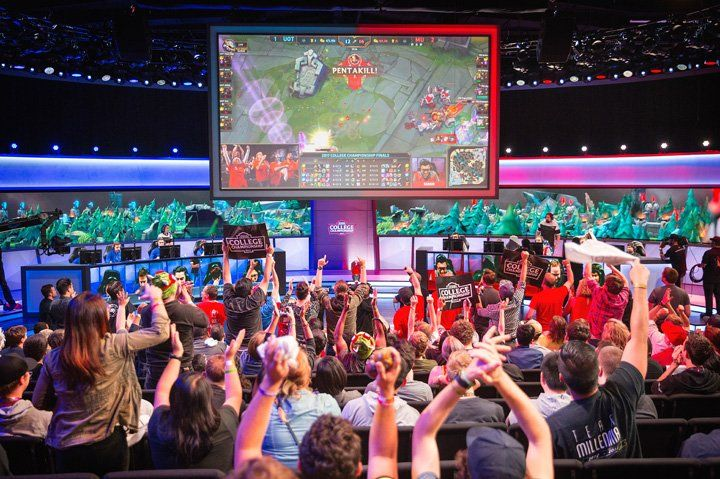 How Local Universities Are Embracing Competitive Video Gaming Esports Maryville University Champions League Of Legends