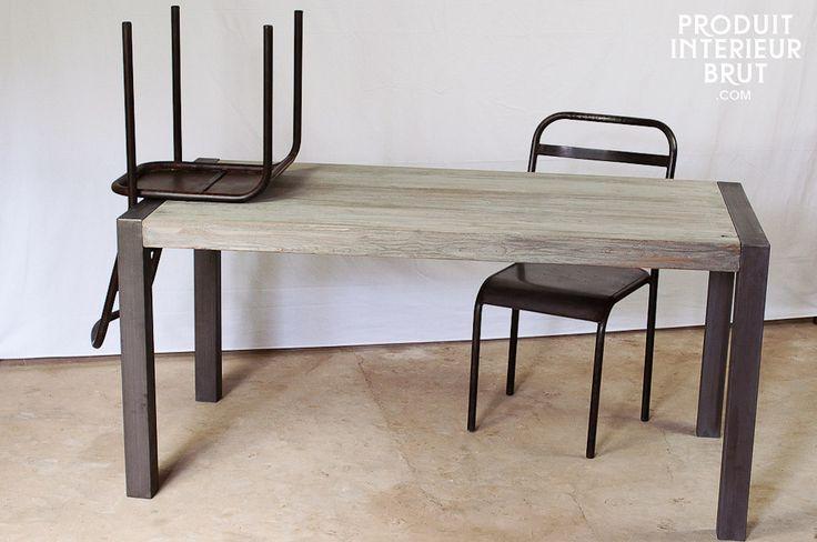 17 meilleures id es propos de table en teck sur for Table exterieur etroite