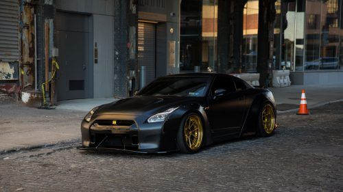 It's a great to share you all this 23 picture of GTR. This picture of Black Dove Nissan GTR is one of them. It's featured with a cool picture of Nissan GTR with black dove colored body and gold colored wheels. The picture has a resolution of 1920×1080 pixels. This resolution also famous as HD resolution. I hope that you will love to use this picture as your desktop background.