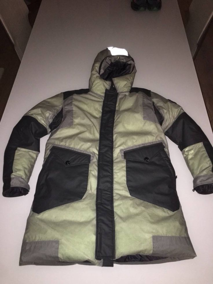 Stone Island Ice Jacket Resin-T Shell Size m - Parkas for Sale - Grailed