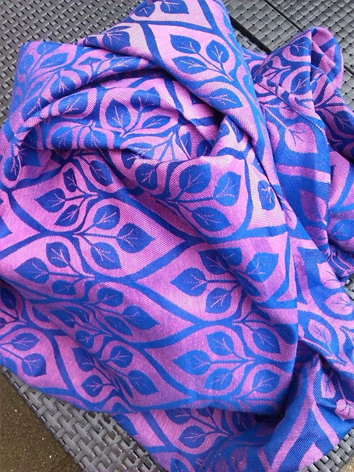 Yaro La Vita Rose Blue with linen