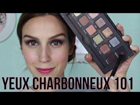 YEUX CHARBONNEUX 101 - TUTORIEL « SMOKEY EYE » (avec CYNTHIA DULUDE) - YouTube
