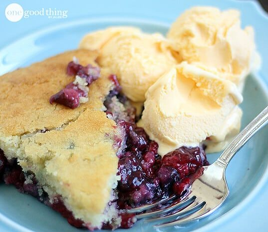 A couple of weeks ago my daughter Britta came across thisrecipe in a magazine for a gluten-free cobbler.I was pretty excited becauseI'm a BIG FAN of cobblers, but the only kind I've ever made were apple or peach. I'd never tried a berry cobbler, let alone a gluten free version of one. Icouldn't wait to …