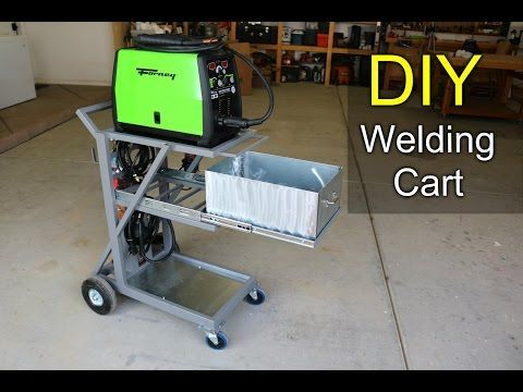 Making a Welding Cart - How to DIY - YouTube