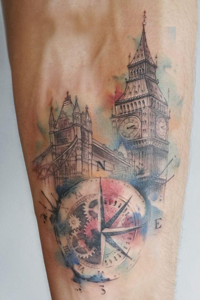 As 20 melhores ideias de london tattoo no pinterest for Birthday tattoo ideas