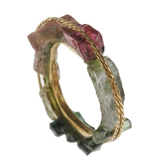Ring | Kika Alvarenga. Coloured Tourmalines and Gold: Bracelet, Style, Coloured Tourmalines, Color, Jewellery Inspiration, Jewellery Design, Art Jewelry, Jewelry Rings
