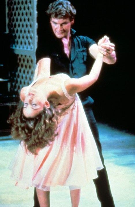 "Patrick Swayze and Jennifer Gray in ""Dirty Dancing"""