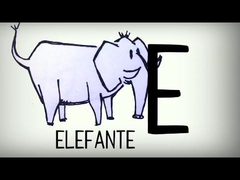 Video con canción para aprender las letras del alfabeto en español, el abecedario castellano, lengua española -- Video to learn  the spanish alphabet letters