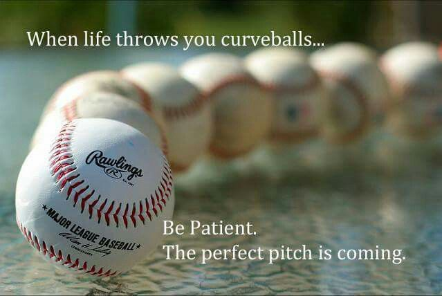 Patience Baseball Quotes Pinterest Simple Baseball Life Quotes