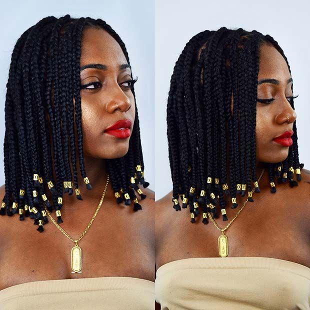 Stunning Medium Box Braids Try in 2019 You Will love it