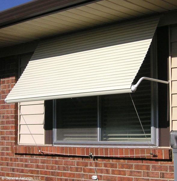 5500 Series Roll Up Window Awning Aluminum Window Awnings Window Awnings Garage Door Design