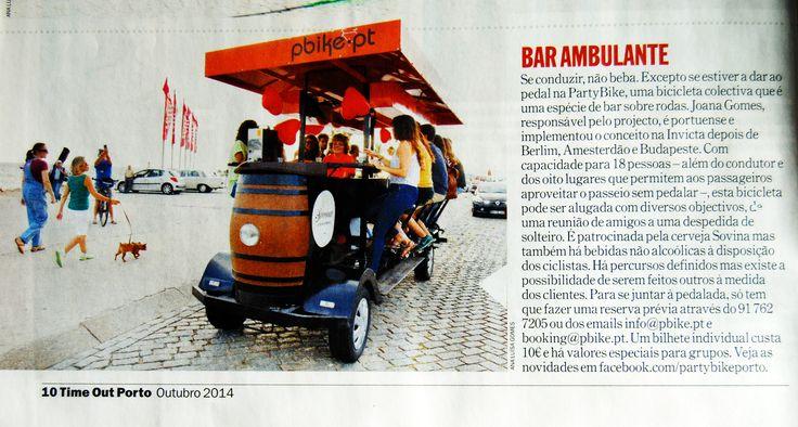 TimeOut Porto - Bar Ambulante