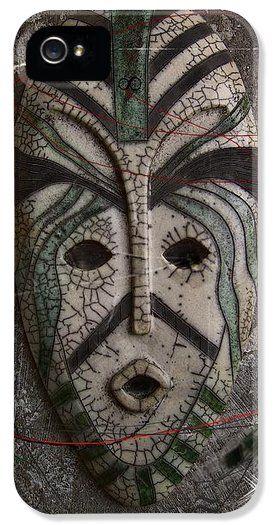 Art on iPhone cases - Raku Mask