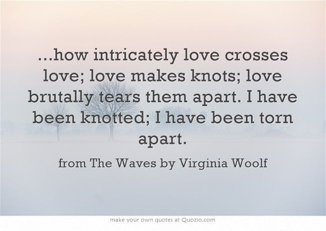Virginia Woolf The Waves Quotes: Virginia Woolf, The Waves