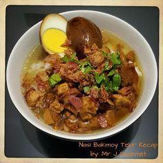 NASI BAKMOY TELUR KECAP by Jimmy ~ Kuliner Nusantara