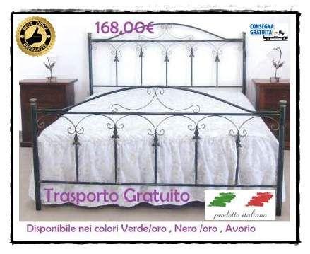 Letti in Ferro battuto 100% Made in Italy