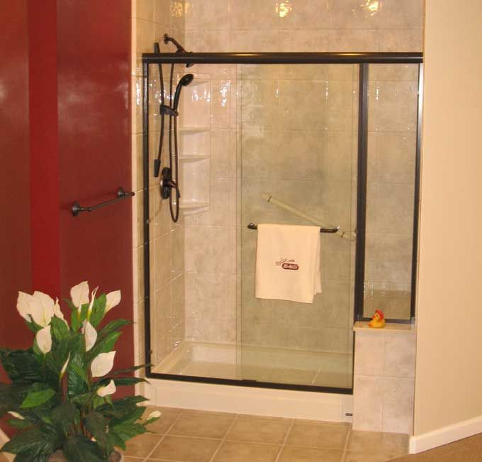 Shower stalls with a benchBest 25  Fiberglass shower stalls ideas on Pinterest   Fiberglass  . Corner Shower Stalls With Built In Seat. Home Design Ideas