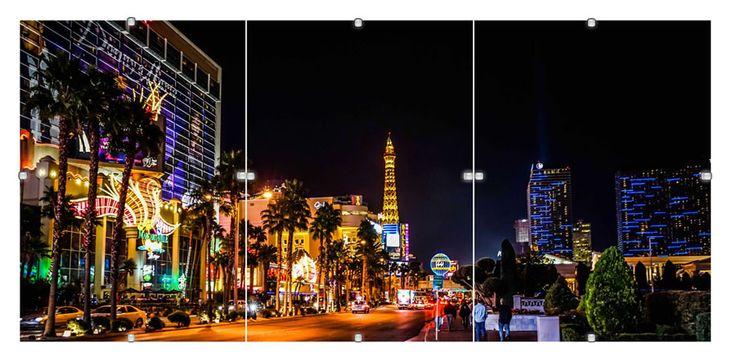 #Tryptyki z widokami wielkich miast są idealnym dodatkiem do nowoczesnych wnętrz. #Obrazy w #antyramach mamy w swojej ofercie w trzech rozmiarach.