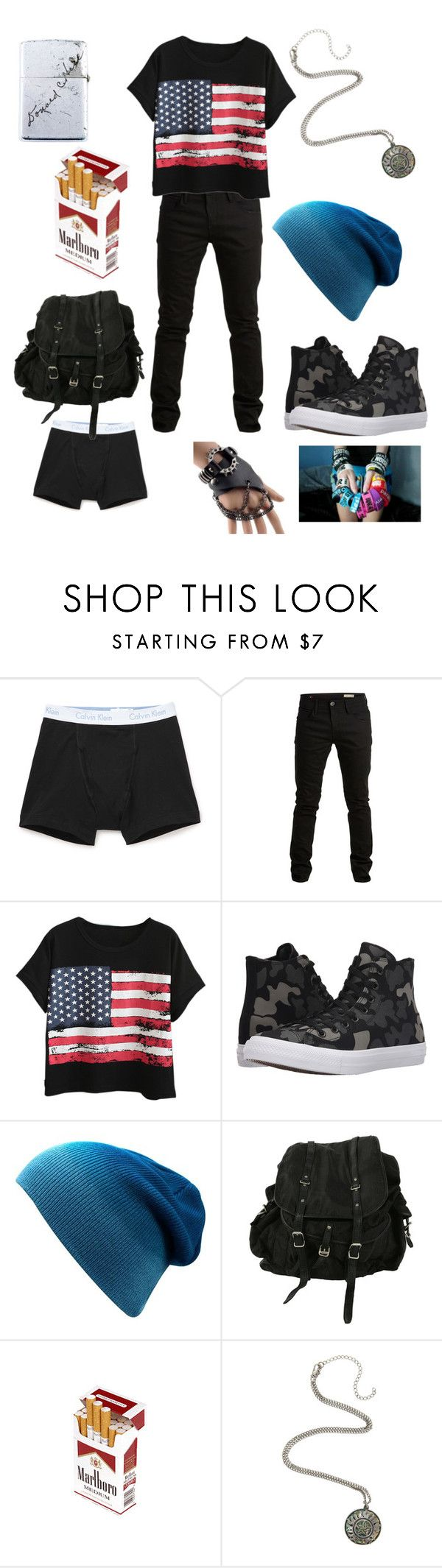 """""""Untitled #131"""" by mt-tomboy-emo-life ❤ liked on Polyvore featuring Calvin Klein Underwear, SELECTED, Chicnova Fashion, Converse, AllSaints, Trend Cool, men's fashion and menswear"""