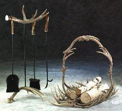 antler decorations | antler decor - home decor - driftwood items