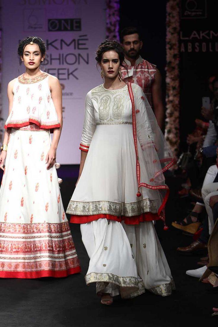 By designer SUMONA PAREKH. Bridelan - Personal shopper & style consultants for Indian/NRI weddings, website www.bridelan.com #SumonaParekh #LakmeFashionWeek2016 #weddinglehenga  #Bridelan #BridelanIndia http://www.bridelan.com/