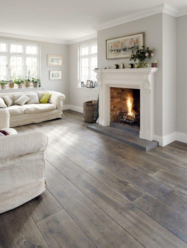 Gray Tone Hardwood Floors Living Room Hardwood Floors Coloring In 2018 Wood In 2020 Grey Wood Floors Living Room Grey Walls Living Room Hardwood Floor Colors